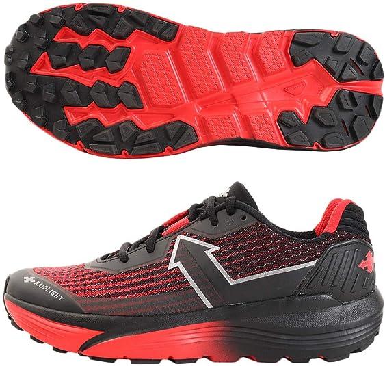 Raidlight Responsiv Ultra - Zapatillas Trail para Hombre, Negro y Rojo, 43 EU: Amazon.es: Zapatos y complementos