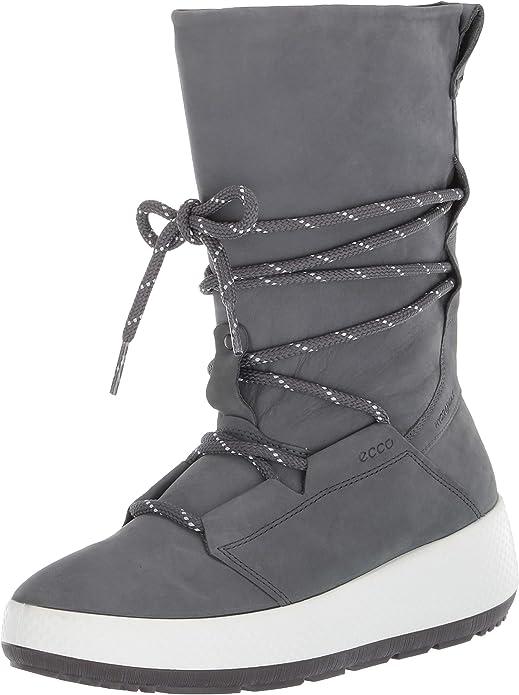 ECCO Women's Ukiuk 2.0 Snow Boots, Grey (Dark Shadow 2602), 7.5 UK,Ecco,80160302602