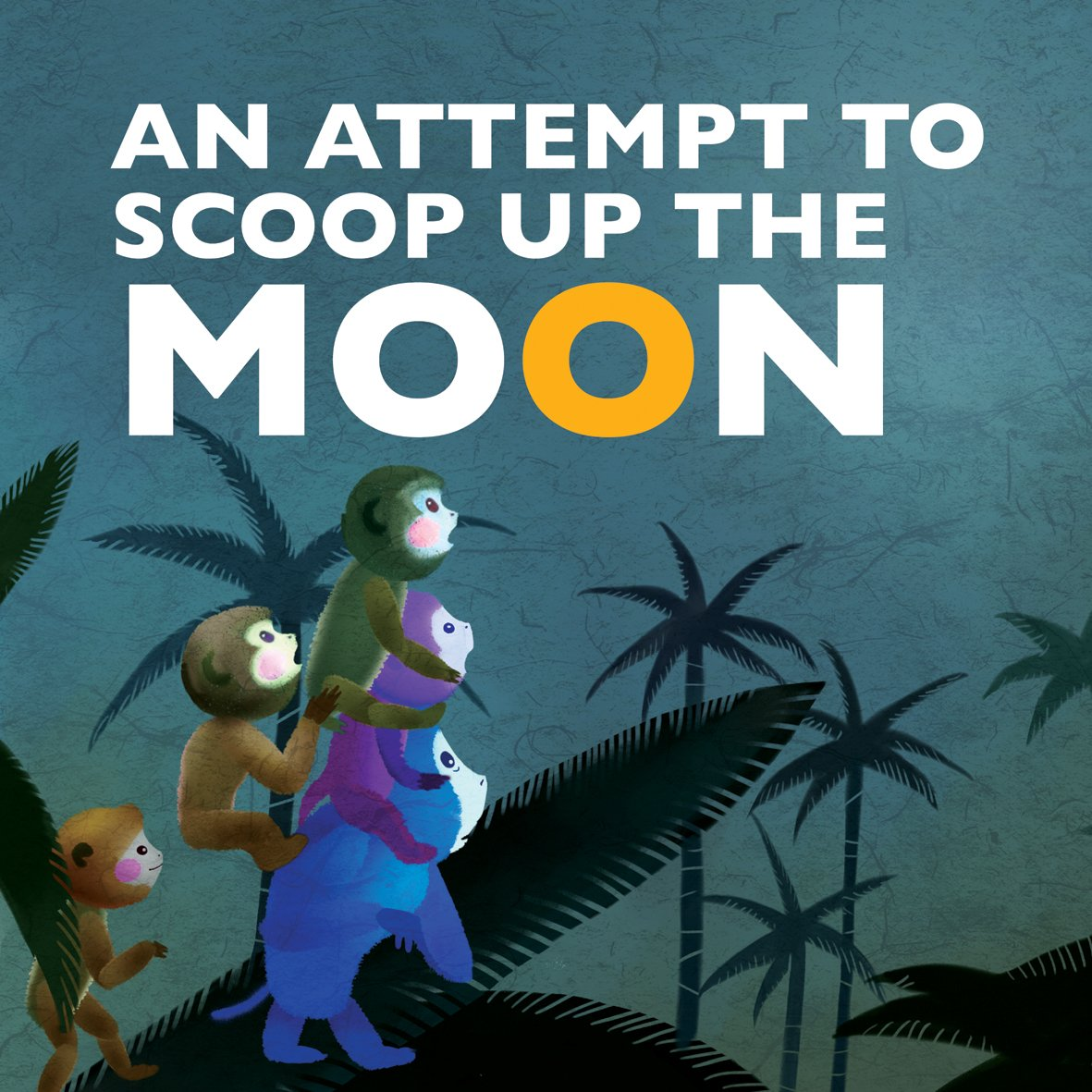 An Attempt to Scoop Up the Moon (Favorite Children's Cartoons From China)