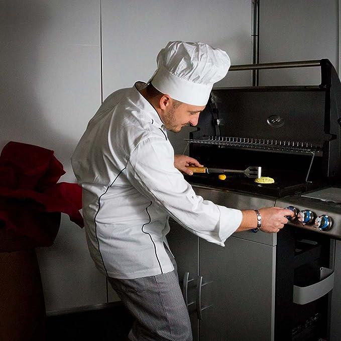 190 Varianti: nero Peso al mq gr Pantaloni cuoco Josh in cotone 100/% Taglia: S Girovita elasticizzato