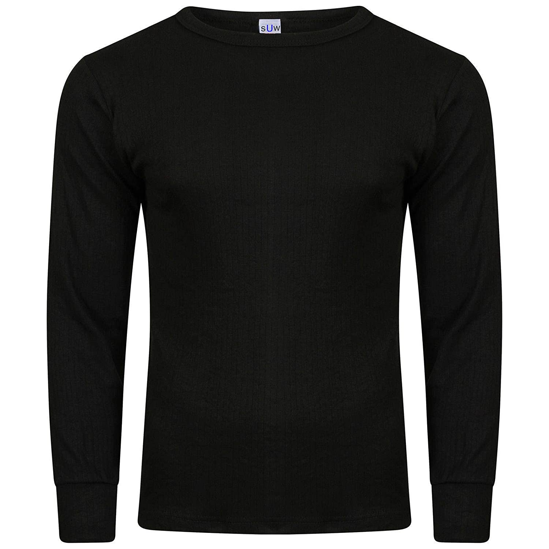 Pack of 6 Socks Uwear/® Mens Winter Thermal Long Sleeve T Shirt