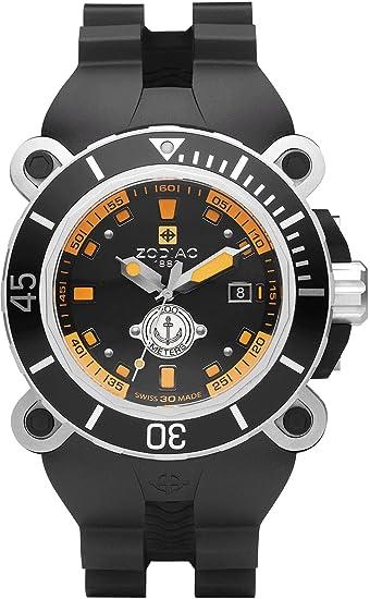 Zodiac ZO8531 - Reloj para hombres, correa de plástico color negro