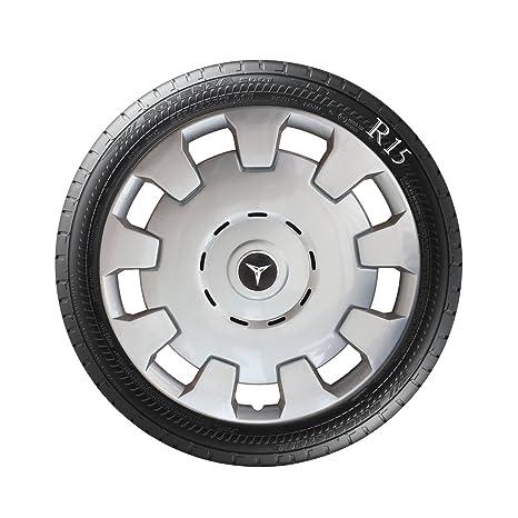 Wheel Trims Direct Tapacubos para Mercedes Clase A, 4 Unidades de 38,1 cm