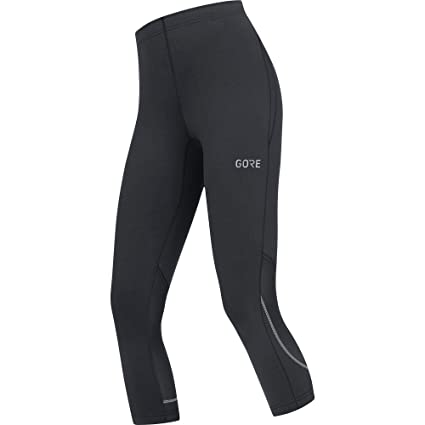 Amazon.com   GORE Wear Women s Breathable 3 4-Length Running Tights ... c8e3be74f
