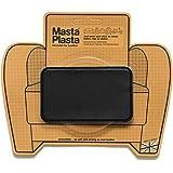 Reparación Cuero, Polipiel y Skai - Parches Adhesivos - MastaPlasta - Rectangulo Mediano (100x60mm) (Negro)