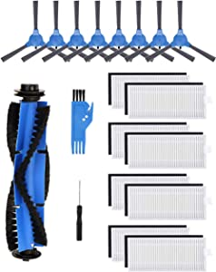 Boompro Replacement Parts Compatible with Eufy RoboVac 11S, RoboVac 30, RoboVac 30C, RoboVac 15C,RoboVac 12, RoboVac 35C Accessory Robotic Vacuum Cleaner Filters, Side Brushes,Rolling Brushes