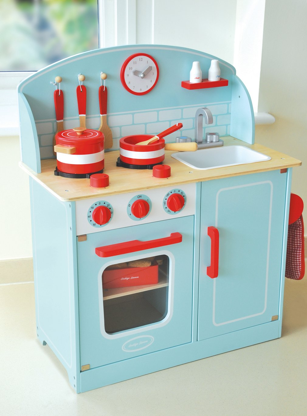Amazon.com: Indigo Jamm Blue Lynton Kitchen Playset KIJ10056: Toys ...