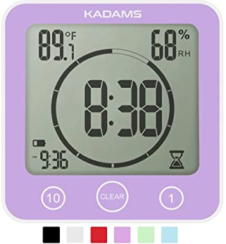 Kadams Indoor Temperature Humidity Kitchen Timer