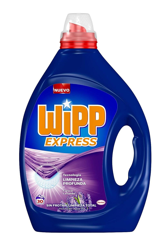Wipp Express Detergente Líquido Lavanda - 31 Lavados (1,55L ...