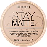 Rimmel London, Stay Matte Pressed Powder, Shade 005, Silky Beige