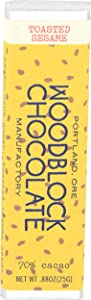 Woodblock Chocolate, Toasted Sesame, 0.88 Ounce