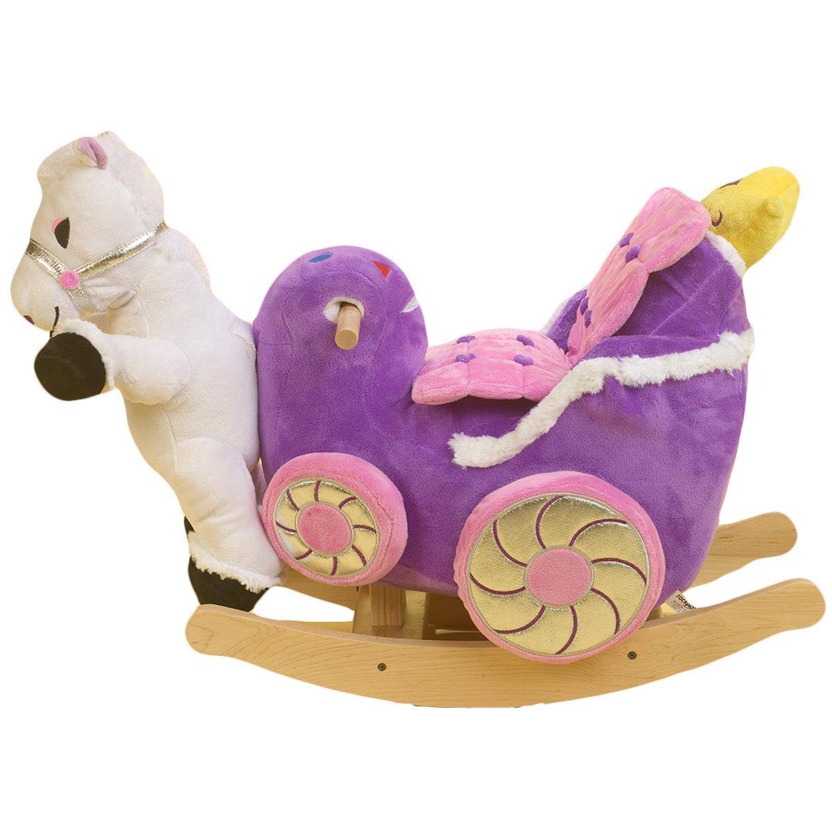 Rockabye Princess Carriage Rocker, Multi 85032