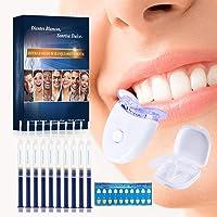 Blanqueamiento dental kit gel, Kit de Blanqueamiento de Dientes,Contra Dientes Amarillos, Manchas de Humo, Dientes Negros