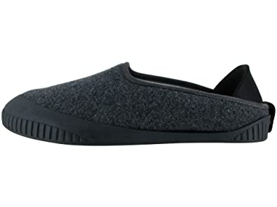 17804373cf3 Dualyz Kush Classic Slipper Dark Grey with Black Removable Sole