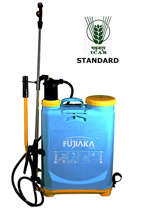 Fujiaka ES/16 Hand Operated Knapsack Agricultural Sprayer 16 Litre - Turquoise Blue [ICAR Standard]