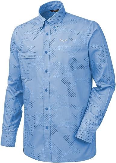 SALEWA Puez Camo Dry SRT Camisa de Manga Larga, Hombre: Amazon.es: Ropa y accesorios