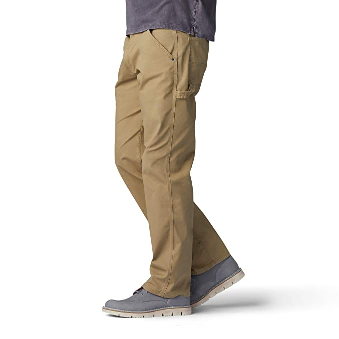 983c5375 LEE Men's Performance Series Extreme Motion Loose Fit Carpenter Jean at  Amazon Men's Clothing store: