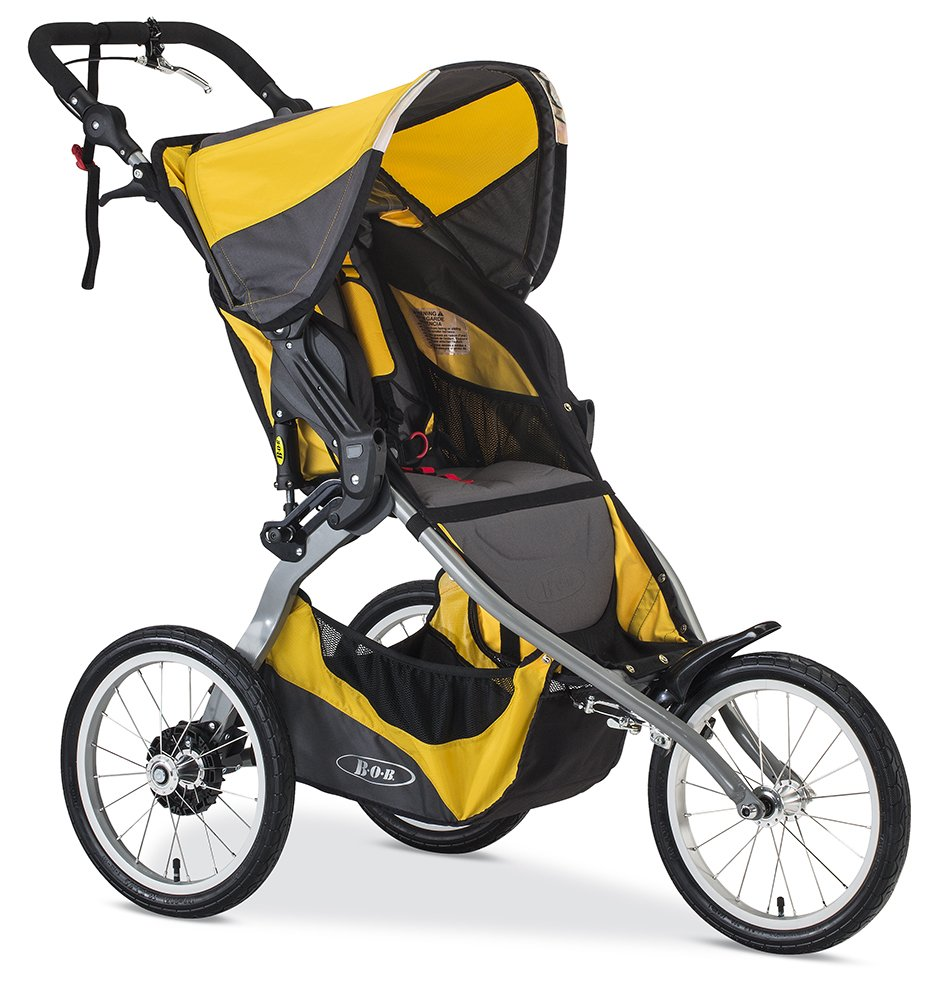 BOB 2016 Ironman Jogging Stroller, Yellow