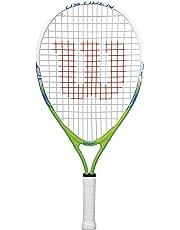 Wilson Kinder-Tennisschläger, US Open 25, grau/weiß/blau