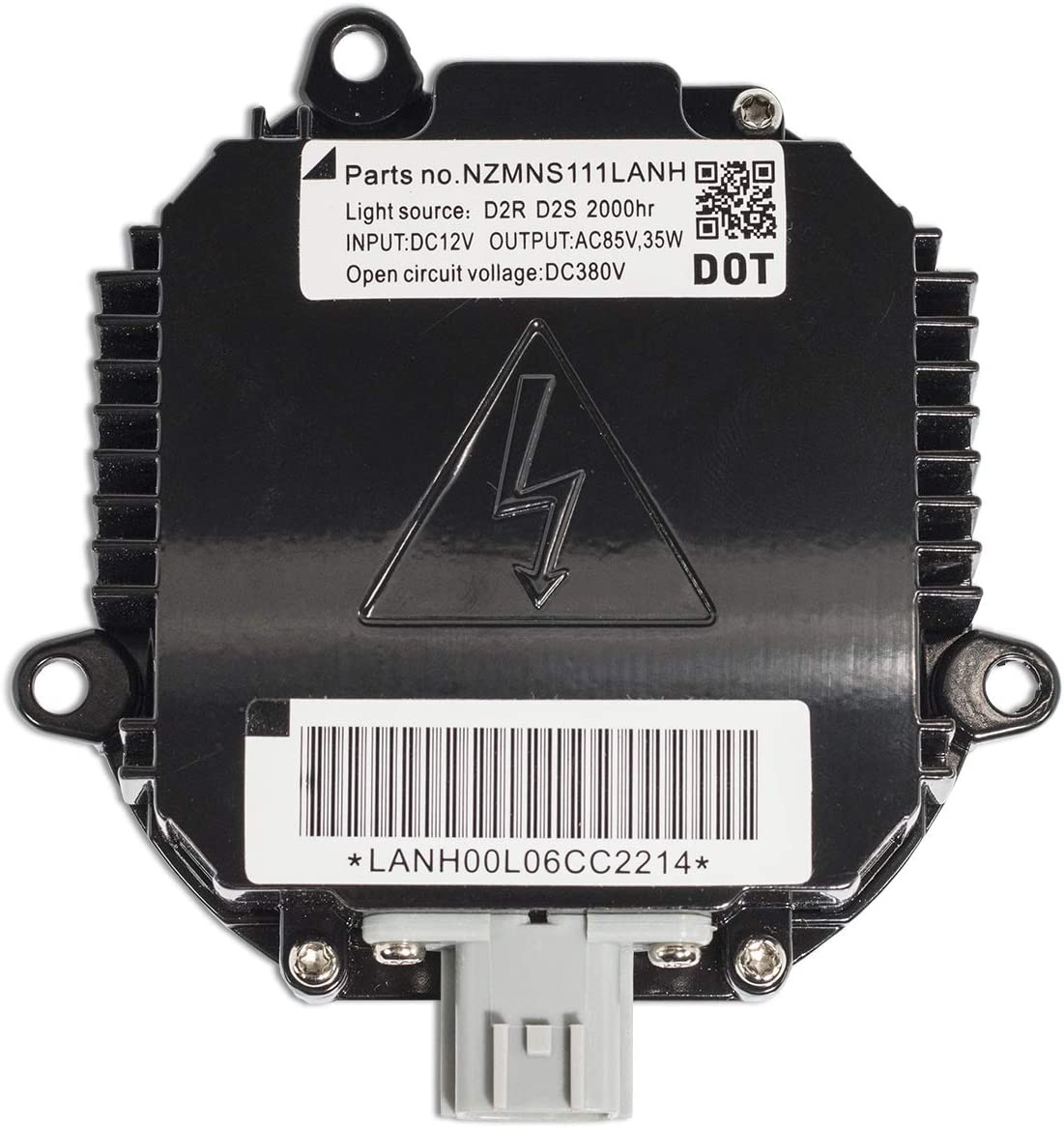 D2S//D2R - 2 Year Warranty Single - 1 PCS XtremeVision OEM Replacement Ballast Compatible with MATSUSHITA NZMNS111LBNA Xenon HID Ballast