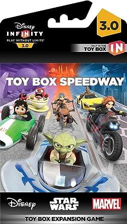 Disney Infinity 3.0 - Toy Box Game Piece Speedway: Amazon.es ...
