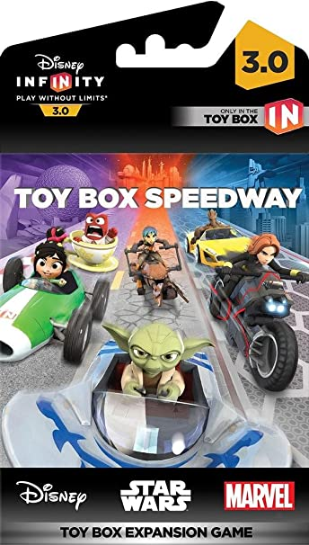 Disney Infinity 3.0 - Toy Box Game Piece Speedway: Amazon.es ...