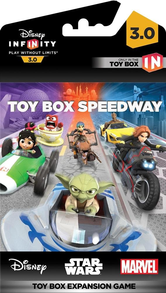 infinity 3 0. Disney Infinity 3.0 - Toy Box Speedway Expansion Game PS4 Xbox 360 1 PS3 Nintendo Wii U Star Wars Marvel: Di 3 0 F