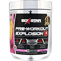 Six Star Explosion Pre Workout Powder with Extreme Energy