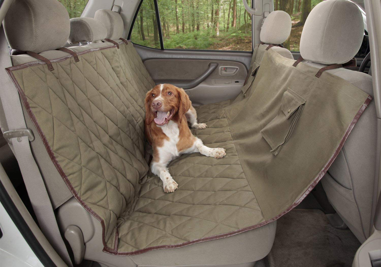 PetSafe Solvit Deluxe Seat Cover – Bench, Hammock, Cargo Liner for Cars, SUVs and Trucks