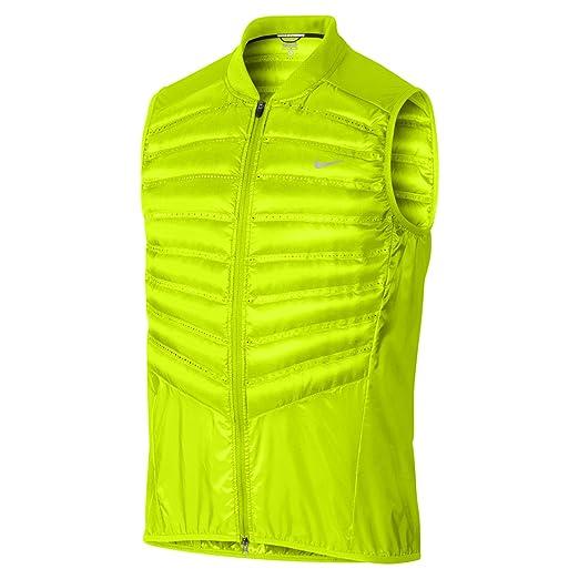 Amazon.com   Nike Men s Aeroloft 800 Running Vest AUTHENTIC 548152 ... 74746114d