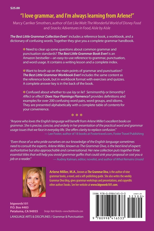 Workbooks grammar and punctuation workbook : The Best Little Grammar Collection Ever!: Arlene Miller ...