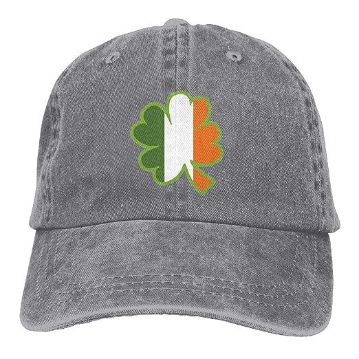 Clipart Ireland Flag Map Royalty Denim Dad Cap Baseball Hat Adjustable Sun  Cap at Amazon Men s Clothing store  88e092fd451