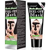 Blackhead Remover Mask,Black Mask,Charcoal Face Mask,Purifying Peel-off Mask with Activated Charcoal Deep Pore Cleanse for Acne