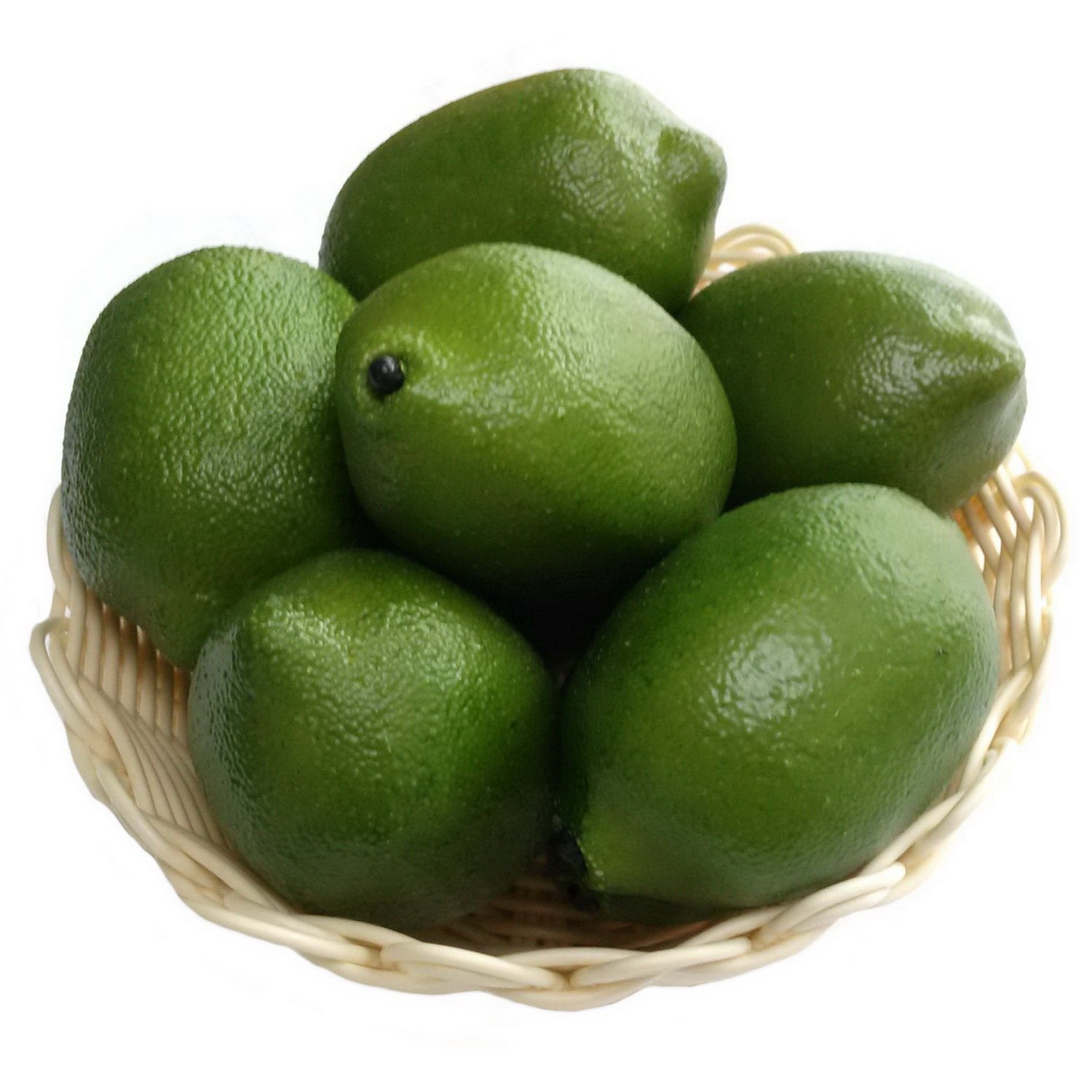 Runfon 4 Large Best Artificial Limes Decorative Fruit by Best Artificial Home decoration