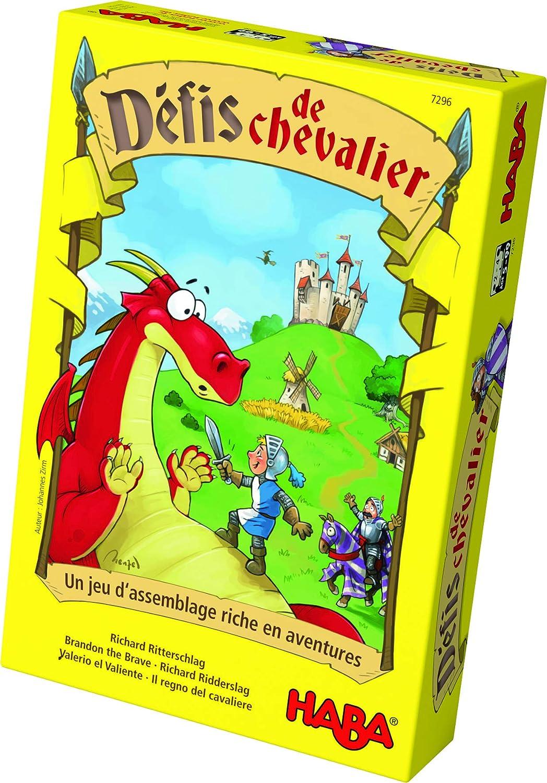 Haba - Retos para los caballeros (en Francés): Amazon.es: Juguetes y juegos