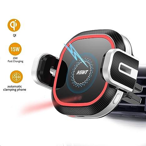 Amazon.com: Wireless Car Charger Mount, 10W/7.5W Qi Car ...