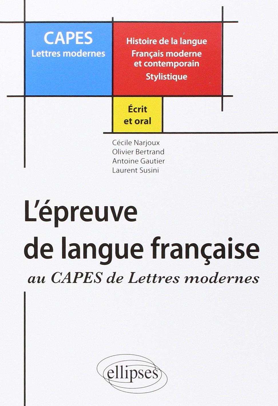 annales capes lettres modernes dissertation A découvrir mots clés : capes français 2017, lettres modernes, lettres classiques autres mots clés : annales capes français lettres modernes.