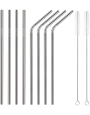 YIHONG Reusable Stainless Steel Metal Straws