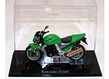 Amazon.com: Kawasaki Z1000 Diecast Model Motorcycle: Toys ...
