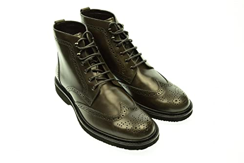 Hogan Uomo Stivaletto Stringato HXM2170S85099WB401 44 Piombo  Amazon.it   Scarpe e borse 95fa5dbea56