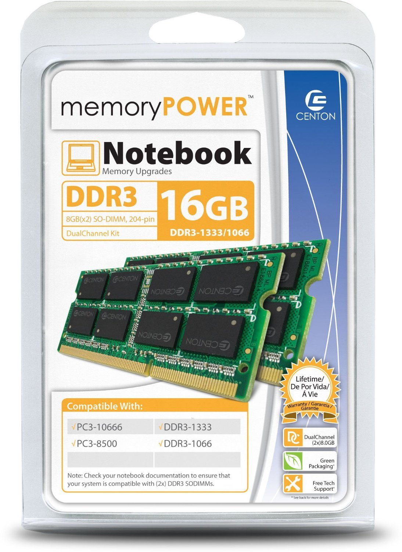 【一部予約販売】 Centon 1333 Electronics 16 DDR3 1333 (PC3 Memory 10600) Memory R1333SO8192K2 B016PU6ZN4 [並行輸入品] B016PU6ZN4, セレクトショップ フィールドワン:7f1fe16c --- arbimovel.dominiotemporario.com