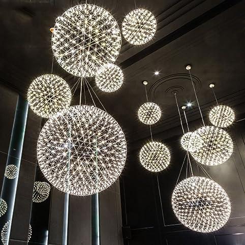 Deckenleuchter, LED-Feuerwerk Funke Ball Postmodern Deckenleuchte ...