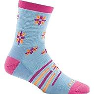 Darn Tough Indie Floral Micro Crew Light Sock - Kid's