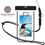 Waterproof Phone Case, Universal Dry Pouch Outdoor Cell Phone Floating Bag with Straps for iphone 7 6s 6 Plus, Samsung Galaxy S8 S7 S6 Edge Note 5 4 3 HTC One M8, M7, LG, G5, Huawei, Sony, etc