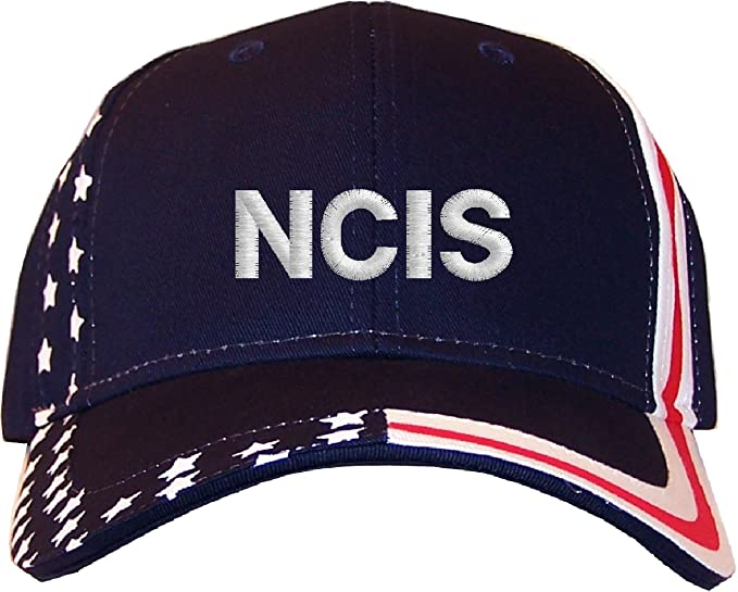 9462c2659e00c Spiffy Custom Gifts NCIS Embroidered Stars   Stripes Baseball Cap ...