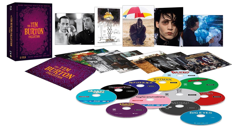 Tim Burton Cofanetto - Esclusiva Amazon 12 Blu-Ray Italia Blu-ray: Amazon.es: Tim Burton, Tim Burton: Cine y Series TV