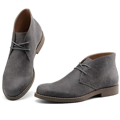 f868135c004 GM GOLAIMAN Men's Chukka Boots Suede Desert Shoes