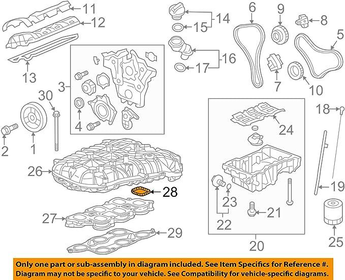 General Motors 12627913 Fuel Injection Plenum Gasket