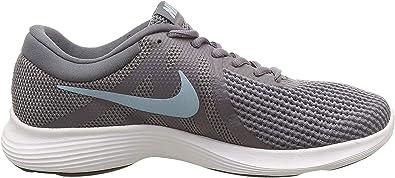 Amazon.com | Nike Women's, Revolution 4 Sneaker Gray 6 M | Road