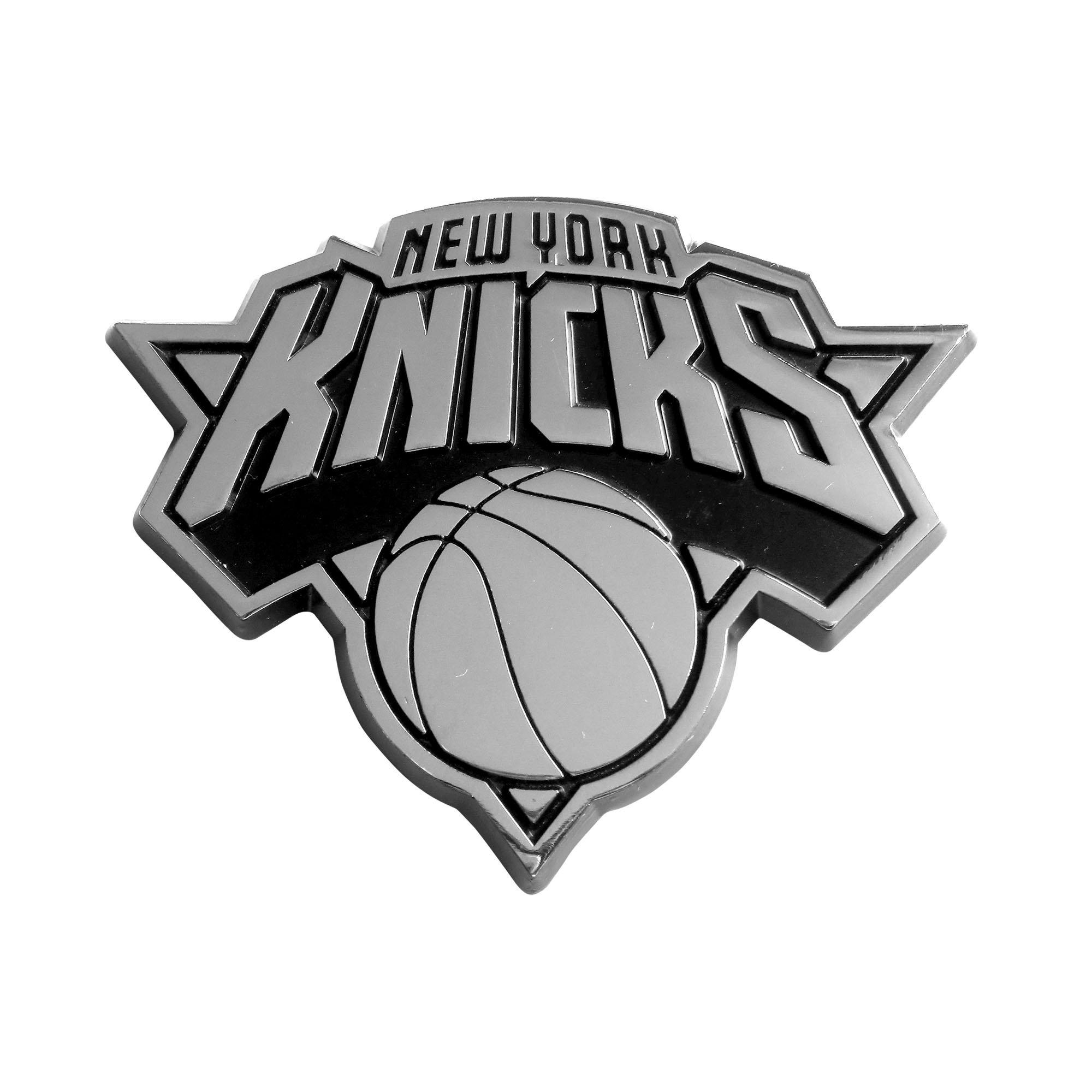 FANMATS  14869  NBA New York Knicks Chrome Team Emblem